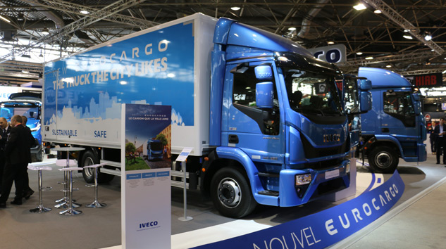 2016 Yılın Kamyonu Ödülünü Iveco Eurocargo Aldı