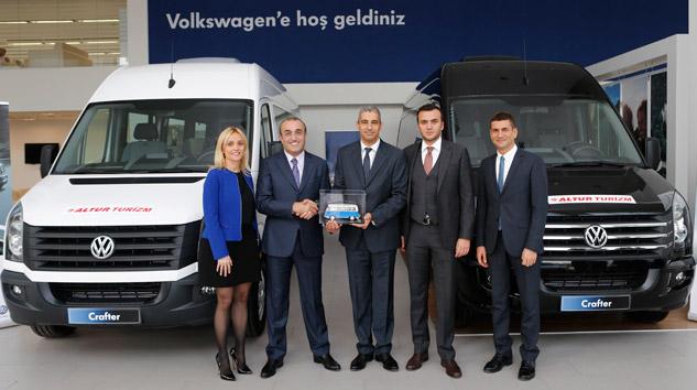 Altur Turizm'e 50 adet Volkswagen Crafter
