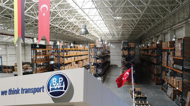 Küresel Treyler Aks Tedarikçisi BPW Türkiye'de Üretime Başladı