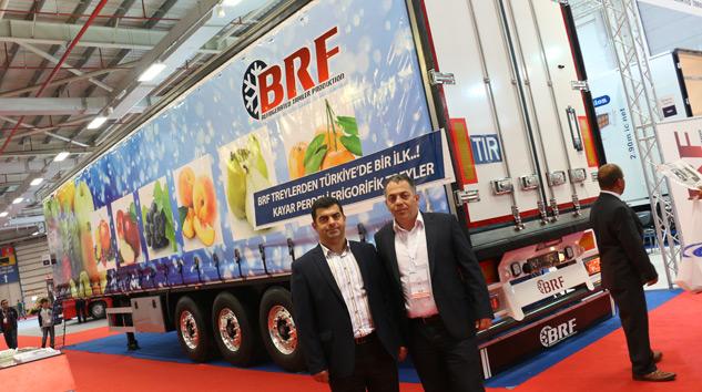 BRF'den Türkiye'nin İlk Kayar Perdeli Frigorifik Treyleri