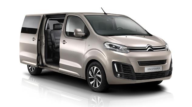 Citroën'den Yeni Bir MPV: Spacetourer