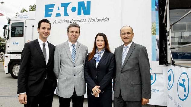 Eaton'ın 17 Metrelik Dev Teknoloji TIR'ı Türkiye'de