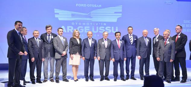 Ford Otosan Türkiye'nin en büyük Ar-Ge Merkezini Açtı