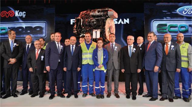Ford Otosan Euro 6 Ecotorq Motor Üretimiyle Rekabeti Zorlayacak