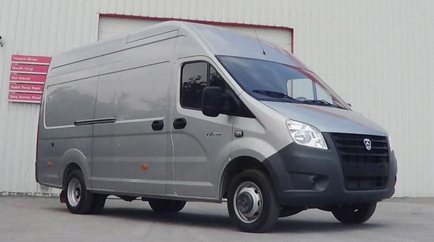 GAZ Türkiye'de, Panelvan ve Minibüs Üretimine Başlıyor