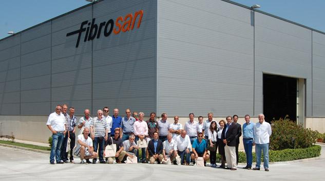 Hollanda Treyler Üreticileri Derneği Fibrosan'ı Ziyaret Etti