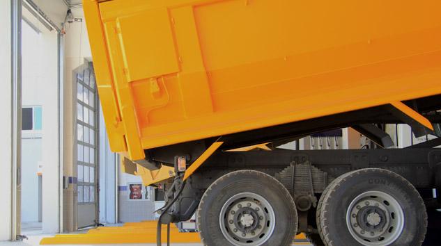 Knorr-Bremse'den Damperli Araçlara Güvenlik Teknolojisi