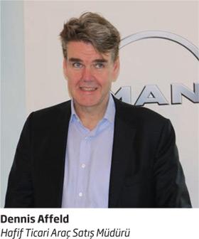 MAN Hafif Ticari Araç Satış Müdürü Dennis Affeld