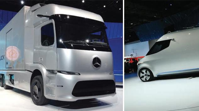 """Mercedes-Benz'den """"Ağ bağlantılı, Verimli ve Güvenli"""" Araçlar"""