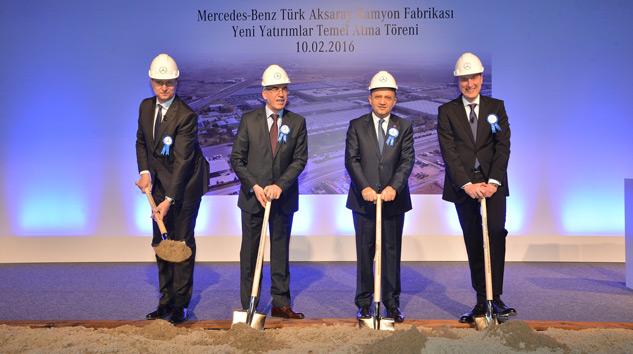 Mercedes-Benz-Türk-Aksaray-Kamyon-Fabrikası-temel-atma-töreni