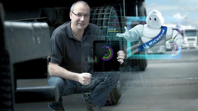 Michelin Lastik Yönetimini Dijital Platforma Taşıyor