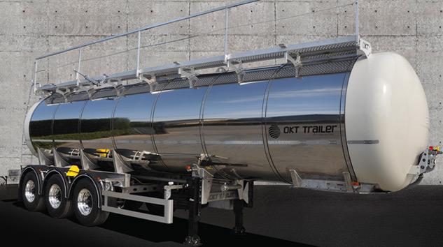 OKT Trailer'den Yeni Nesil Süt Tankeri