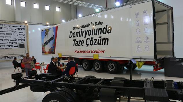 Otokar 'Huckepack Iceliner'ı İlk Kez Sergiledi