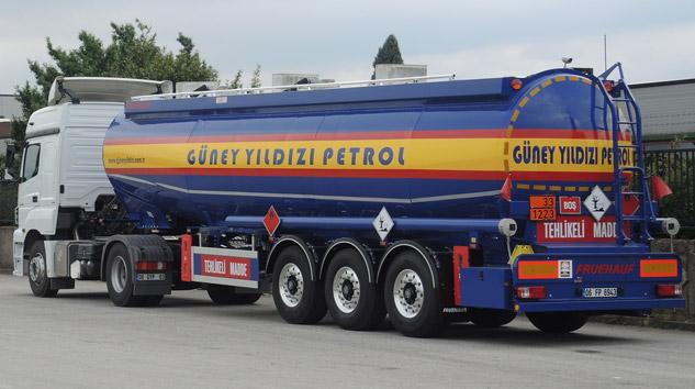 Güney Yıldızı Petrol'e 5 Adet Otokar Tanker Semi-Treyler