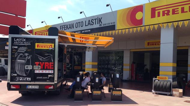 Pirelli Eğitim Aracı Bilinçlendirmeye Devam Ediyor