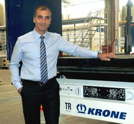 Krone Ticari Araçlar CEO'su Rıza Akgün