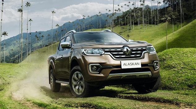 Renault Alaskan'la Pick Up Pazarına İddialı Giriyor