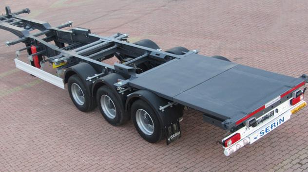 Serin Treyler'den Konteyner Taşımacılığına İki Marka ve Yedi Farklı Model Atağı