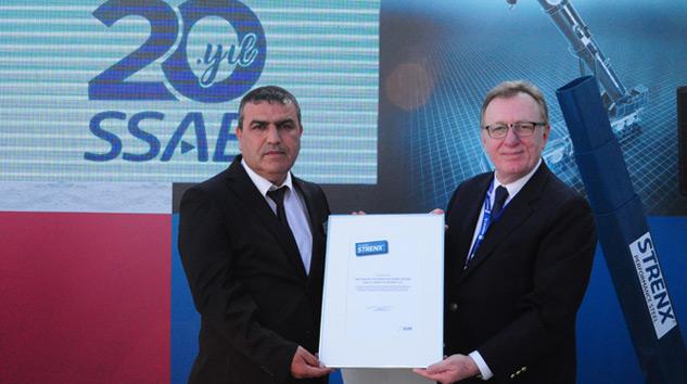 SSAB Türkiye'deki 20'nci Yılını Müşterileriyle Kutladı