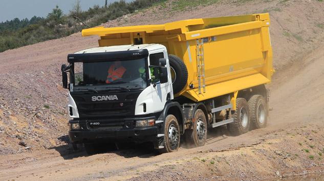 Scania İnşaat Araçları Farklı Üstyapı Seçenekleriyle Sahada