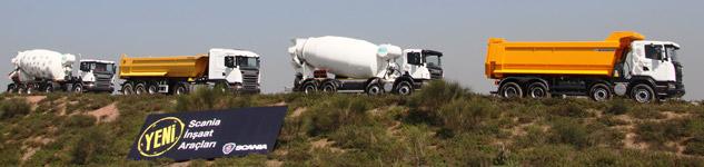 Scania-İnşaat-Araçları
