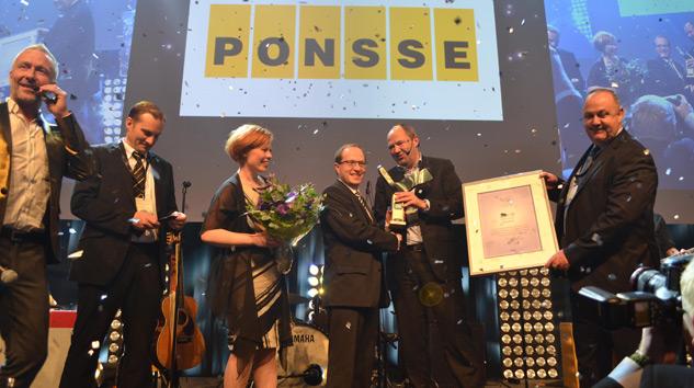 Swedish Steel Prize 2015'i Finlandiyalı Ponsse Kazandı