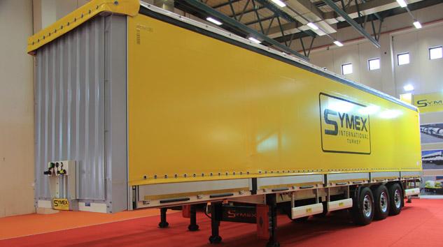 Symex Tenteli Treyler Üretimine Başladı