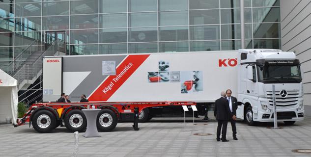 Treyler Markaları Transport Logistic Fuarında