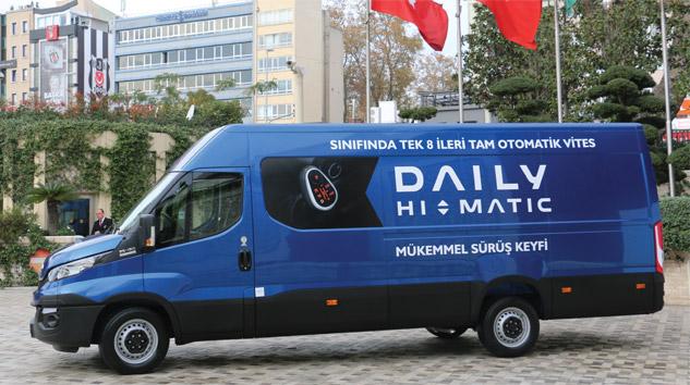 Yeni Daily Hi-Matic Türkiye Yollarında