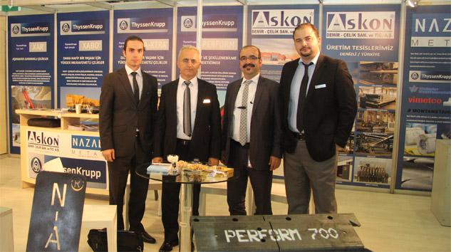 ThyssenKrupp Türkiye'deki İlk Yılında Hedeflerini Aştı