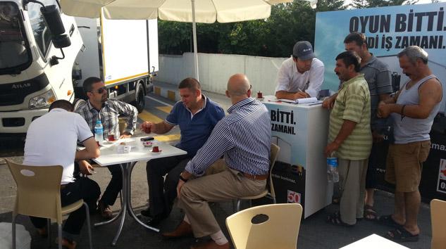 Otokar Atlas Tanıtımı İstanbul'da Devam Ediyor