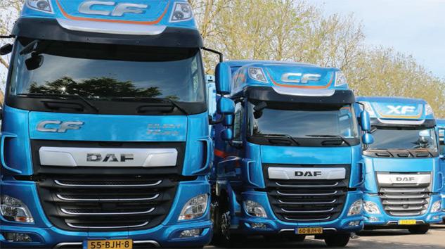 DAF Yeni CF ve XF Serilerini Tanıttı