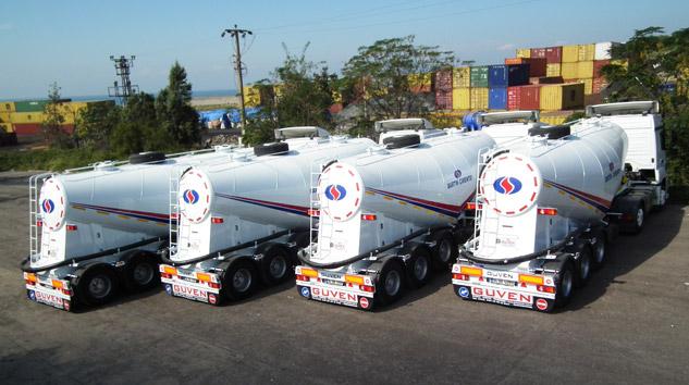 Güven Makina Bartın Çimento'ya 4 Adet Silobas Teslimatı Yaptı