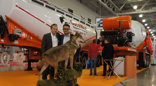 Güven Makine Rusya'da Comtrans Fuarına Katıldı