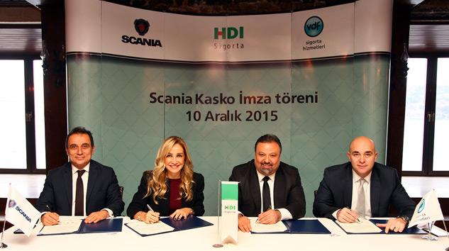 Scania Kasko Güvencesi Müşterilerin Hizmetinde