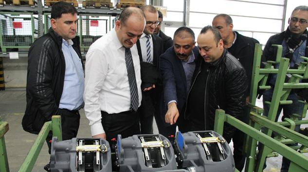 Türk Dingil Üreticilerinden Almanya'da Knorr Bremse Üretim Tesislerine Ziyaret