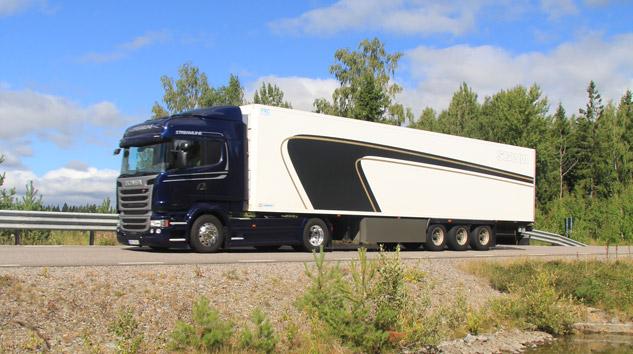 Efsane Scania Streamline Yeniden Yollarda