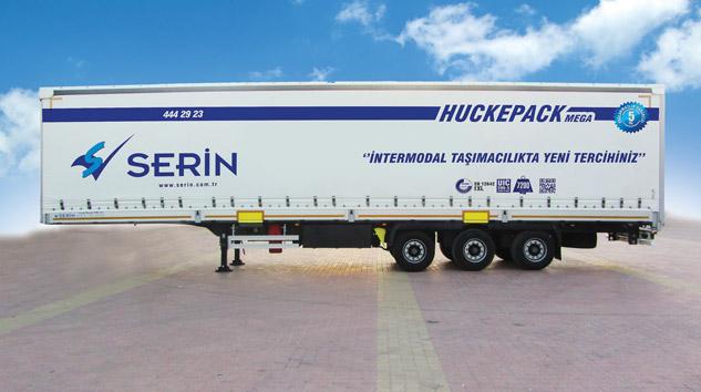 Serin Huckepack modelini logitrans'ta Lojistikçilere Tanıttı