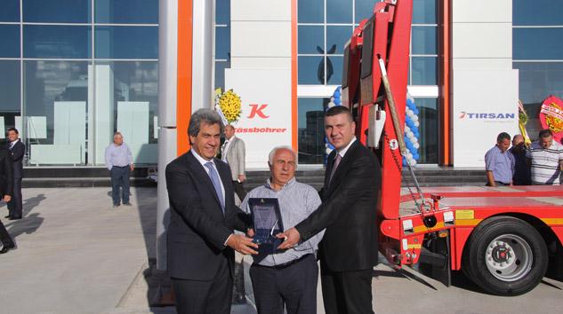 TIRSAN Ankara'da Ford Bayisi Başer Otomotivle İşbirliği Yaptı