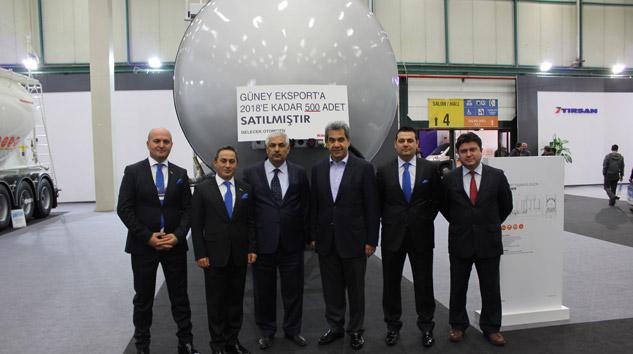 TIRSAN'dan Güney Eksport'a 500 Adetlik Tanker Satışı
