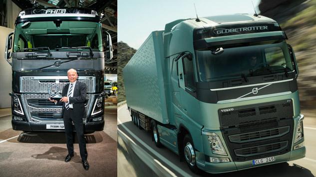 Volvo FH Yılın Kamyonu Seçildi