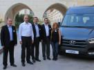 Karsan Üretimi Hyundai H350 Yola Türkiye'den Çıktı