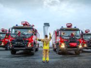 Volvo Trucks'tan İstanbul Havalimanı'na 5 İtfaiye Kamyonu